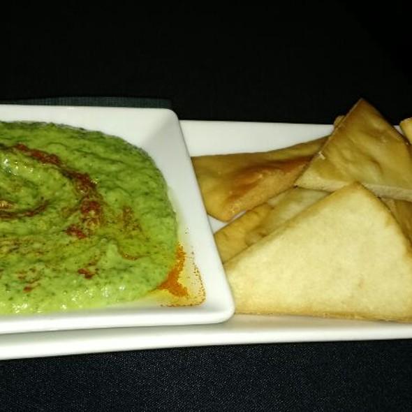 Cilantro Hummus And Pita Chips - SideBar Columbus, Columbus, OH