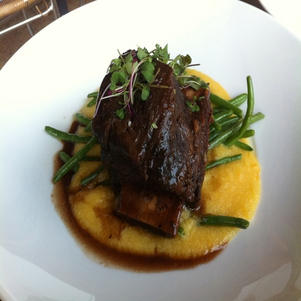 Apple Braised Beef Short Rib @ Cru Wine Bar