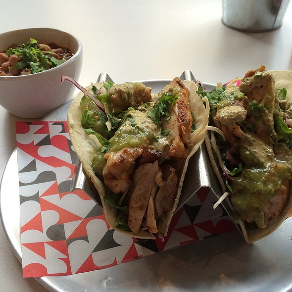 Chicken Tacos @ Df/Mexico