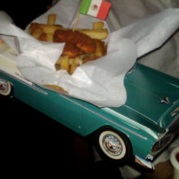 Chicken Nuggets & French Fries - Baja Cantina - Marina del Rey, Marina Del Rey, CA