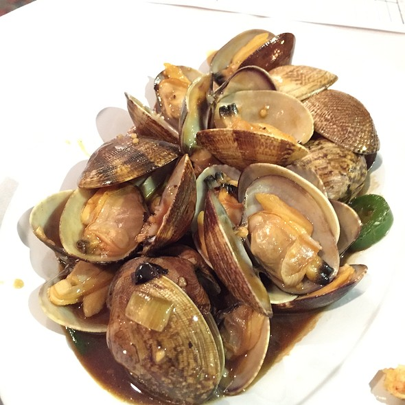 Black Bean Sauce Clams @ Fortune Seafood Restaurant