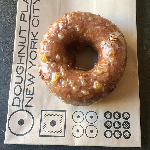Roasted Chestnut Cake Doughnut @ Doughnut Plant