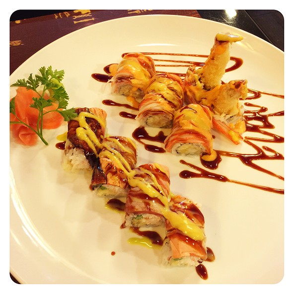 Angel Hair Roll And Tiger Roll @ Asian Harbor