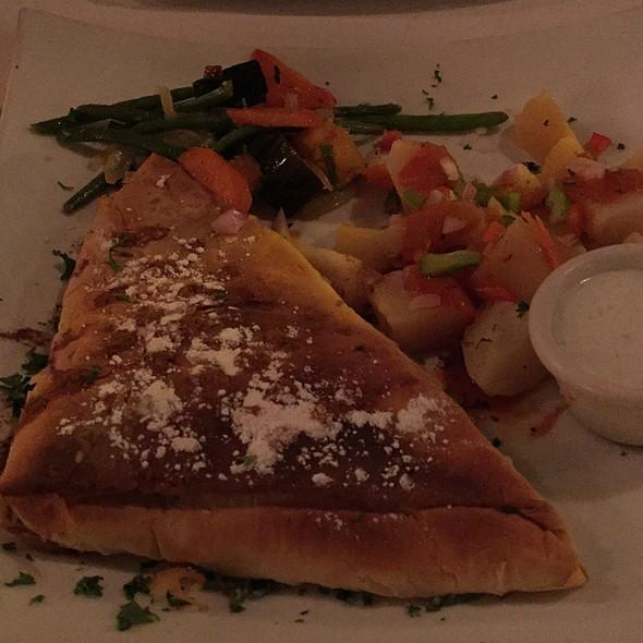 Moroccan Chicken B'stilla - Andies Restaurant - Lakeview, Chicago, IL