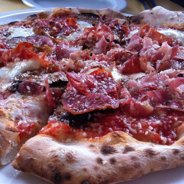 Pork Love Pizza Napoletana @ Dough Pizzeria Napoletana