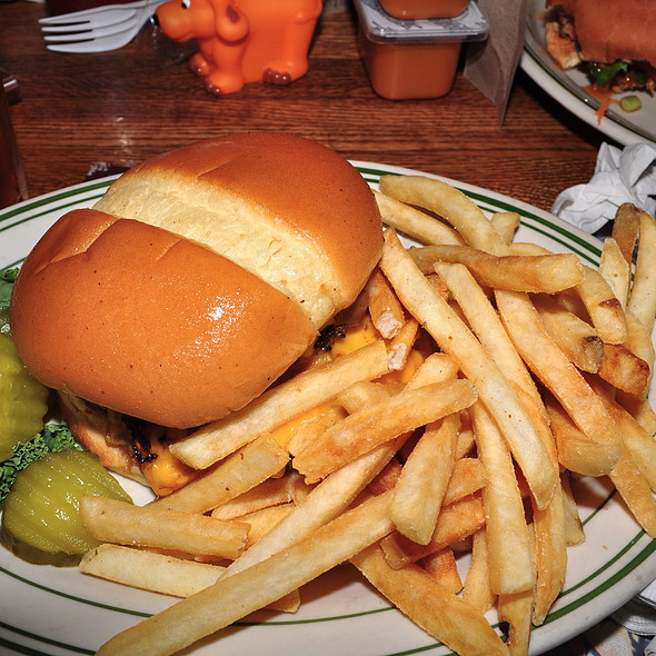 Bicycle Burger @ Grandma's Saloon & Grill