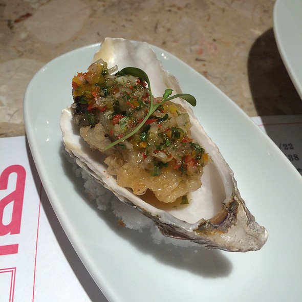 Fried Oyster With Lime And Chilli @ Barrafina