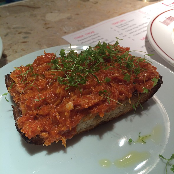 Crab On Toast @ Barrafina