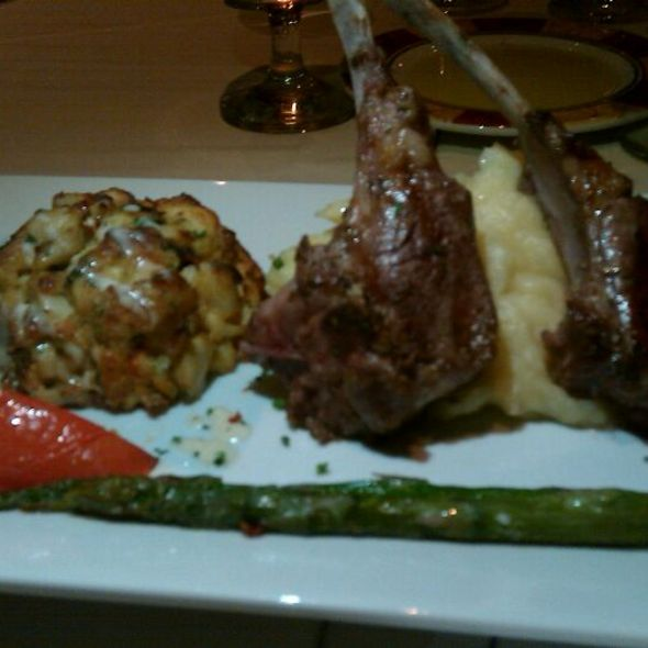 Baltimore Jumbo Lump Crab Cakes & Grilled Lamb Chops  - Mezze, Baltimore, MD