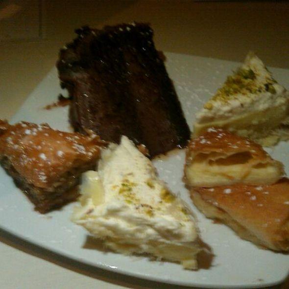 Chef's Special Dessert Platter  - Mezze, Baltimore, MD