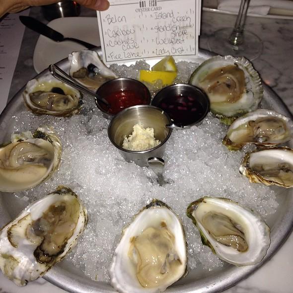 Assorted Oysters - 801 Fish - Leawood, Leawood, KS