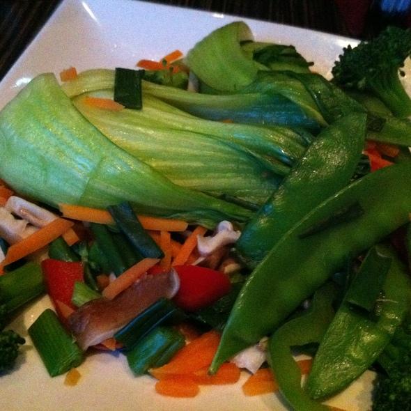 Vegetable Platter @ ra sushi