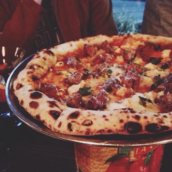Polpette Pizza - Mani Osteria, Ann Arbor, MI