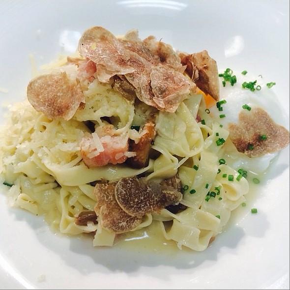 Bacon And Egg Pasta @ Terrapin Restaurant