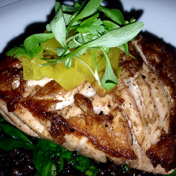 5 Spice Grilled Salmon @ Rusty Hook Tavern