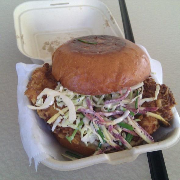 Fried Chicken Sandwich @ 3 Sum Eats