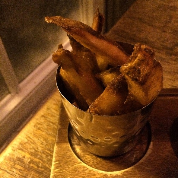 Triple Cooked Chips - The Dandelion, Philadelphia, PA