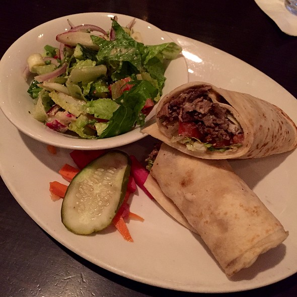 Shawarma Sandwich - Lebanese Taverna - Bethesda, Bethesda, MD