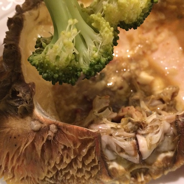 Dungeness Crab Guts @ Home