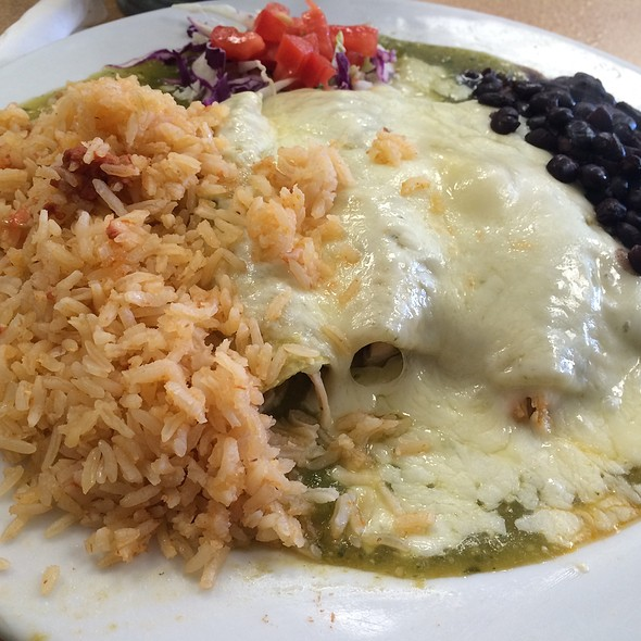 Chicken Enchiladas @ Denica's