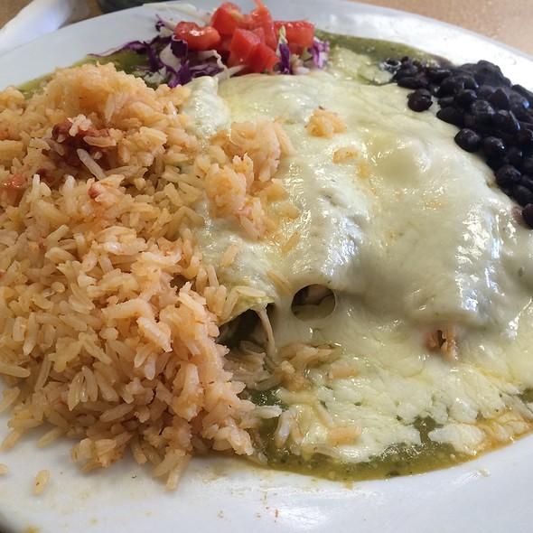 Chicken Enchiladas @ Denica's