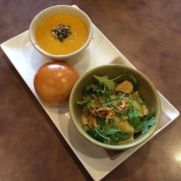 Butternut Squash Ravioli & Autumn Soup @ Panera Bread