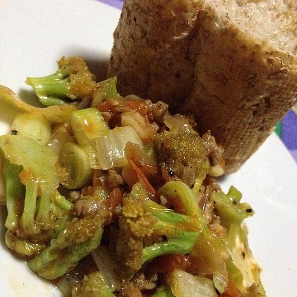 Keema With Broccoli