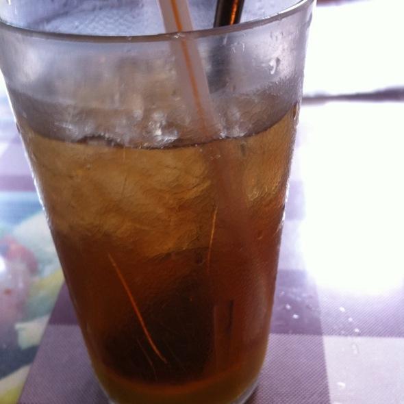 Ice Lemon Tea @ Tuen Mun Curry House