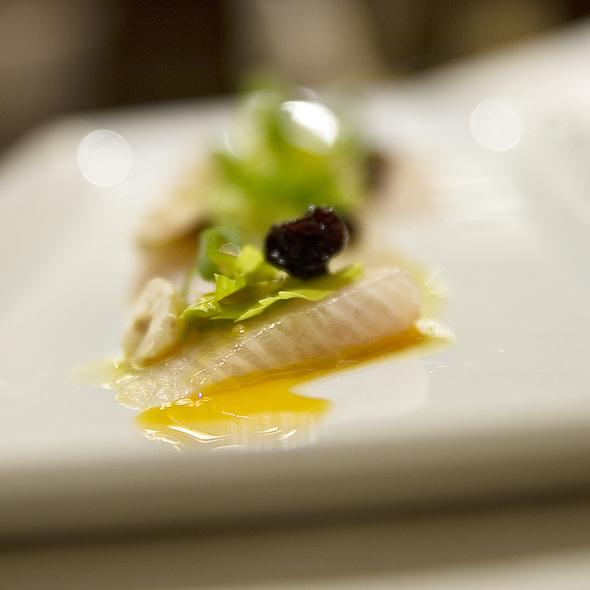 Hamachi Crudo - Carillon Restaurant, Austin, TX