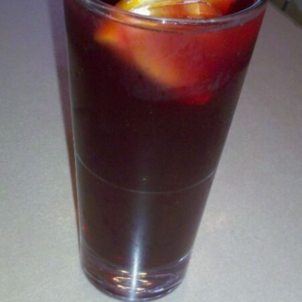 Red Wine Sangria @ Versailles Cuban Restaurant
