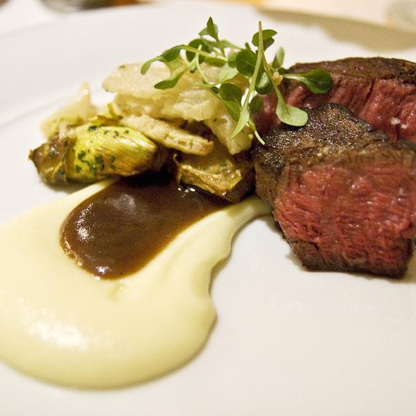 Beef tenderloin - Carillon Restaurant, Austin, TX