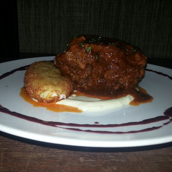 Braised Oxtails - Pazzo Restaurant, Red Bank, NJ