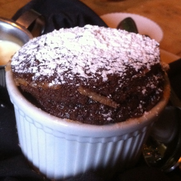 Chocolate Souffle - Bella Notte, Lexington, KY