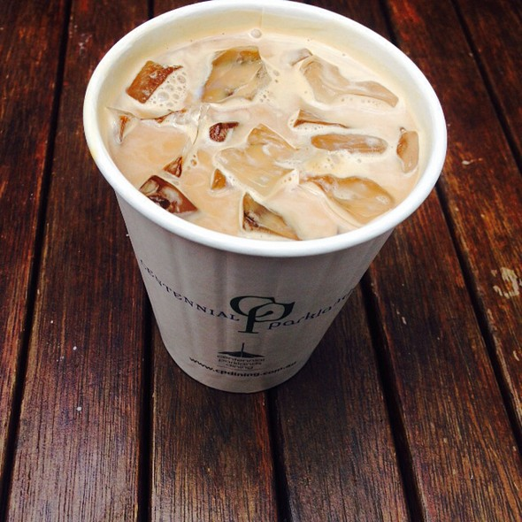 Iced Coffee @ Centennial Parklands Dining
