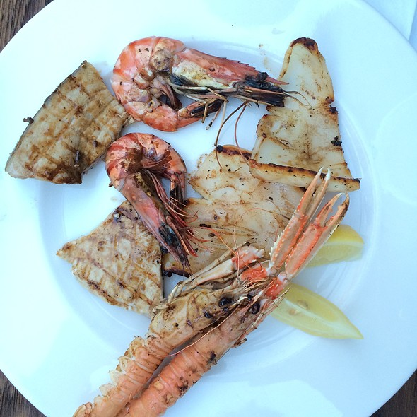 Seafood Plate @ Seaside Bistro