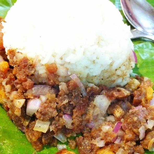 Pork Sisig @ Balot-balot