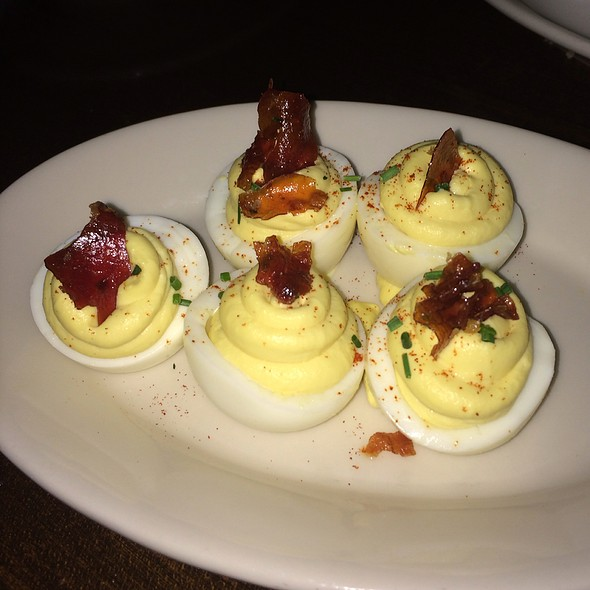 Bacon And Chive Deviled Egg