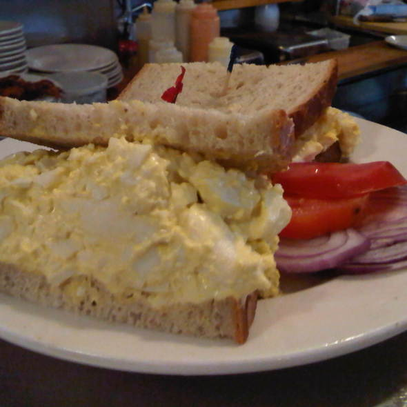 Egg Salad Sandwich @ lansky's old world deli