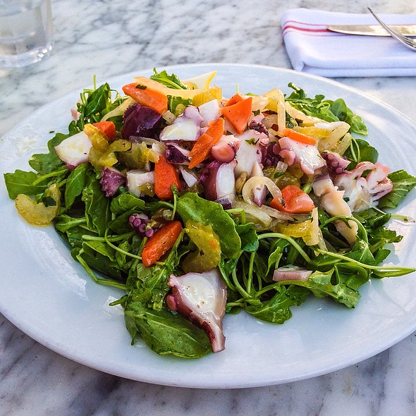 Octopus Salad @ Buona Forchetta