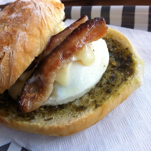Breakfast Sandwich @ Thor Espresso Bar