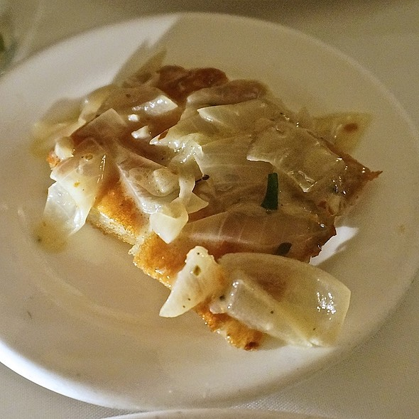 Onion focaccia bread - Scalini Fedeli, New York, NY