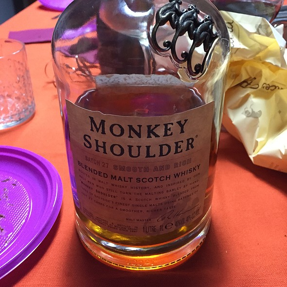 Monkey Shoulder @ Massi's House
