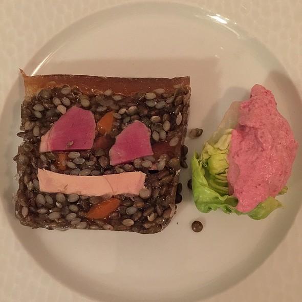 Terrine Foie Gras Joue De Porc Et Lentille @ S'Musauer Stuebel