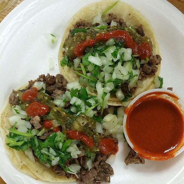 Asada Tacos @ King Taco