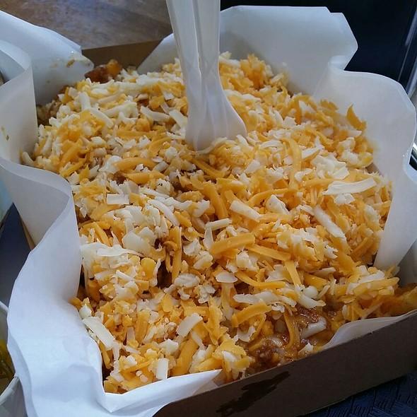Chili Cheese Fries @ Tops Burger
