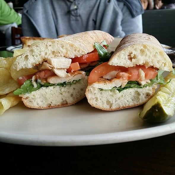 Chicken Pesto Sandwich @ Corner Bakery