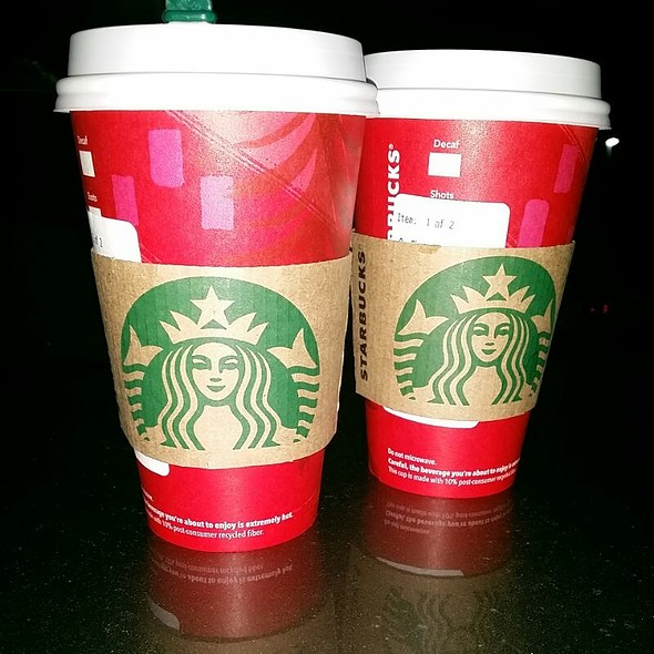 Gingerbread Latte With Whipped Creme @ Starbucks