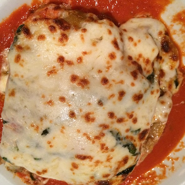 Eggplant Lasagna - Max a Mia, Avon, CT