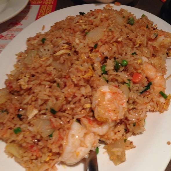 Ketchup Fried Rice With Shrimp