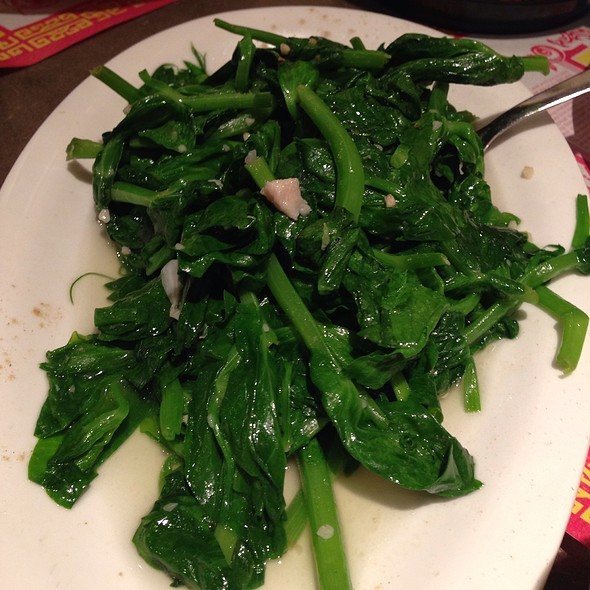 Snowpea Shoots With Garlic